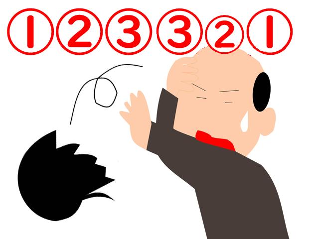 簡単回文なぞ全5問 言葉のセンス問題 それぞれ回文を作ってください。
